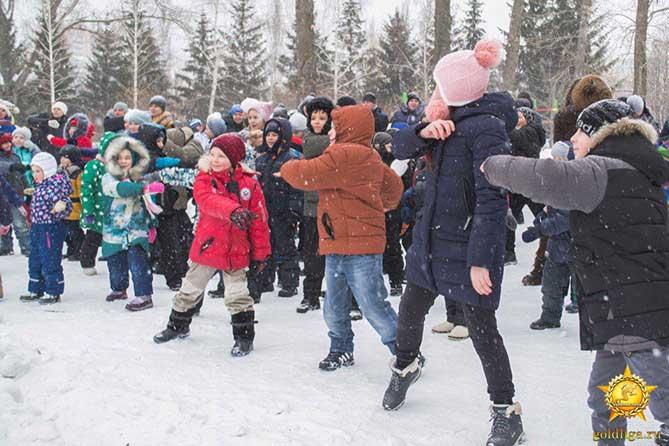 28-01-2018: Спортивно-развлекательная программа в Тольятти