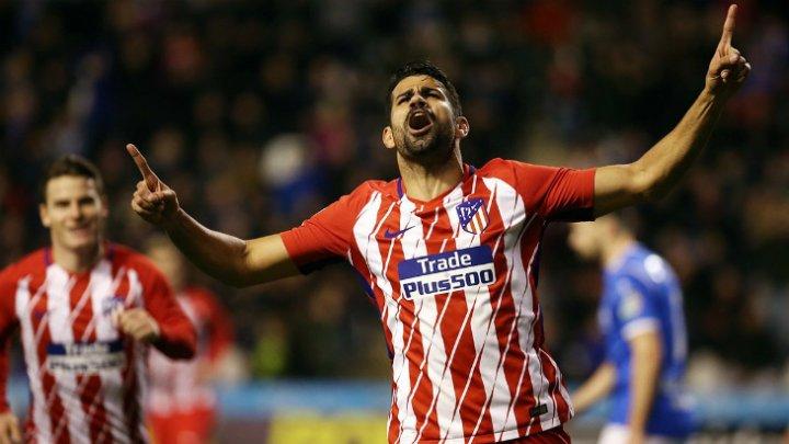«Атлетико» обыграл «Льейду» 4:0 в Кубке Испании