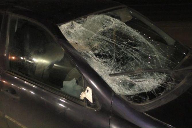 Разбил окно кухни, а потом повредил автомобиль, принадлежащий бабушке