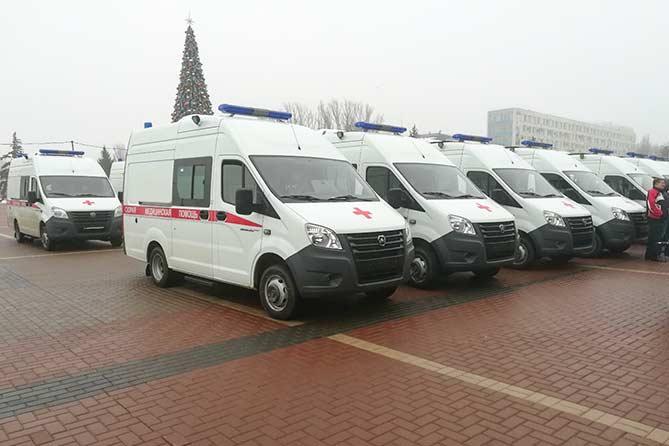 Тольятти получил 7 новых автомобилей «скорой помощи»