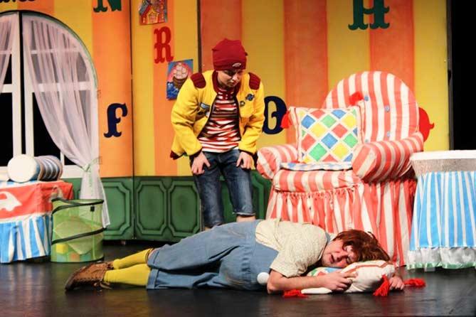 Театр «Дилижанс»: Премьерный спектакль «Малыш и Карлсон»
