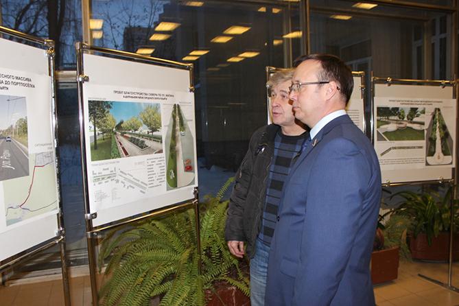 Определились с перечнем адресов по благоустройству территорий Тольятти в 2018 году