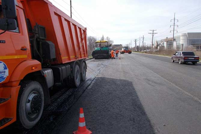 Ремонт дорог в Тольятти начнется в апреле 2018 года