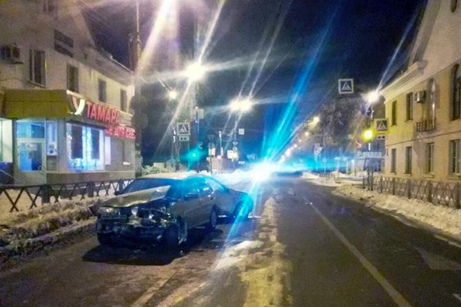 13-02-2018: ДТП на улице Комсомольской