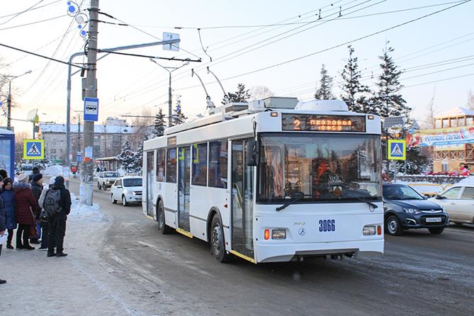 Осталось поставить в Тольятти один троллейбус