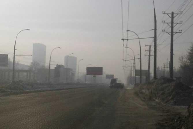 Дышать в Тольятти приходится тем, что есть