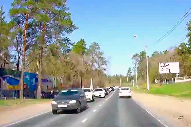 Лесопарковое шоссе: Расширить до 4 полос