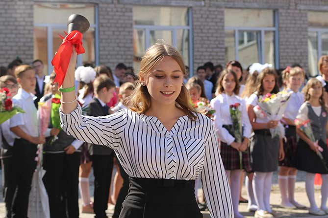 23 мая 2018 года в школах прозвенит последний звонок