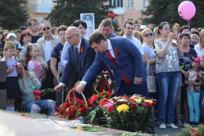В Тольятти 9 мая 2018 года прошел праздник Победы