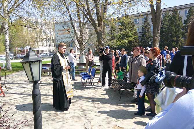 В честь Дня Победы Тольяттинский государственный университет организовал парад