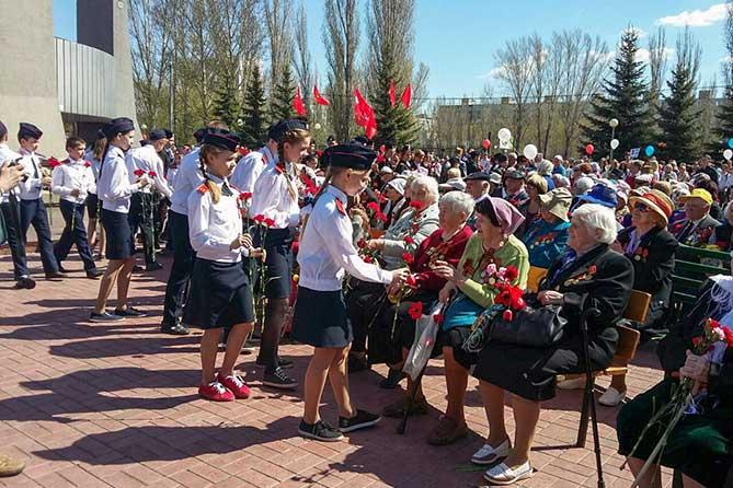 Праздник в парке Победы Тольятти