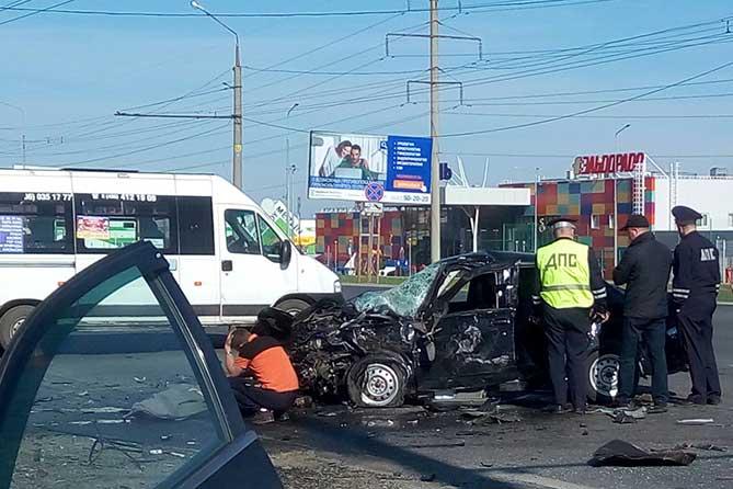 ДТП на Южном шоссе в Тольятти: Погиб водитель