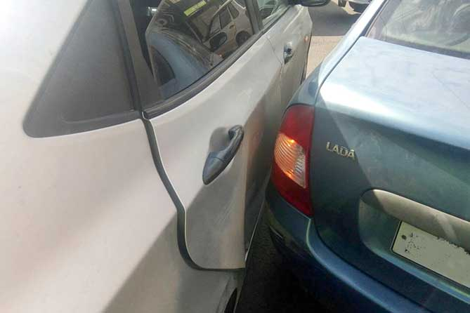 Пострадала 24-летняя пассажирка иномарки