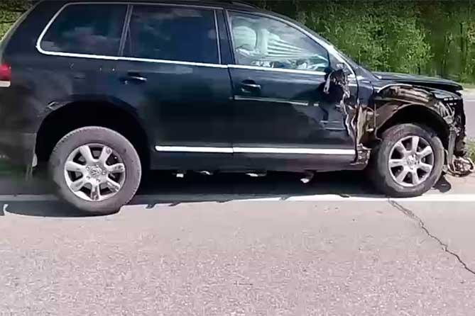 ДТП 17 мая 2018 года иномарка