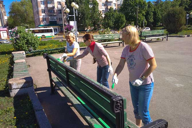 Жители Тольятти и актеры театра Колеса поддержали инициативу