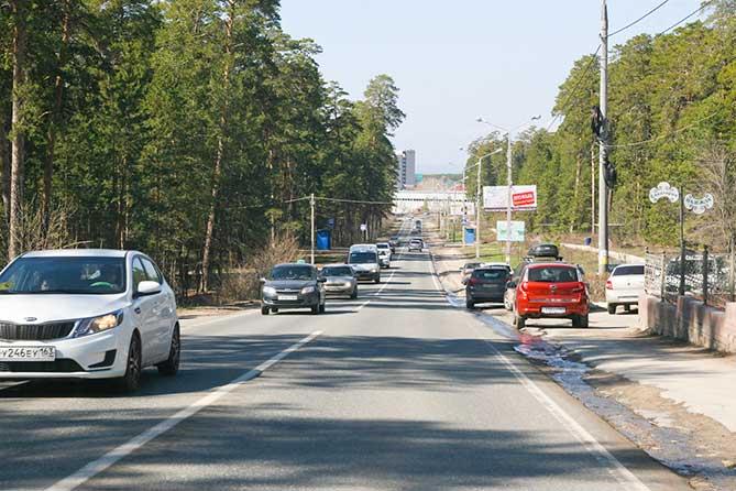 Вдоль Лесопаркового шоссе расчищают территорию