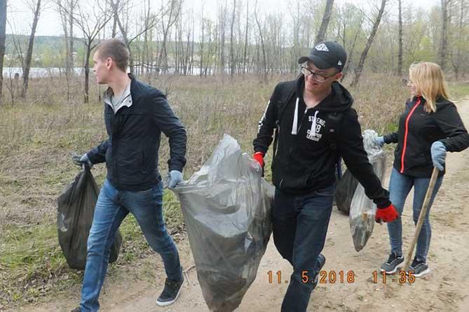 Субботник на Копылово: Ликвидировано 1200 кг отходов потребления