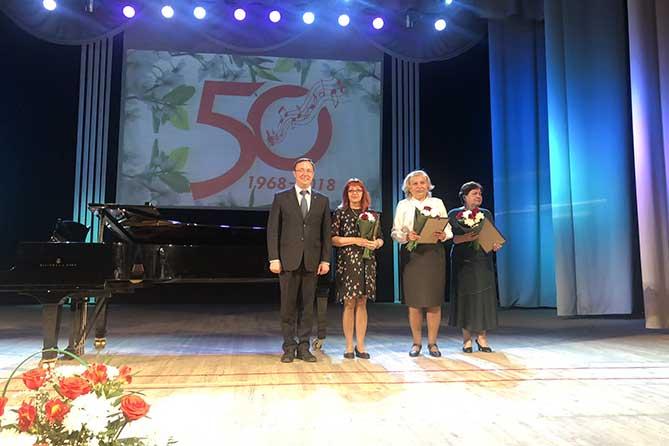Тольяттинская музыкальная школа № 3 отмечает 50-летие