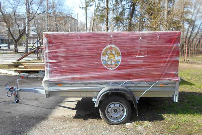 Для Тольятти закупили два новых передвижных пожарных поста