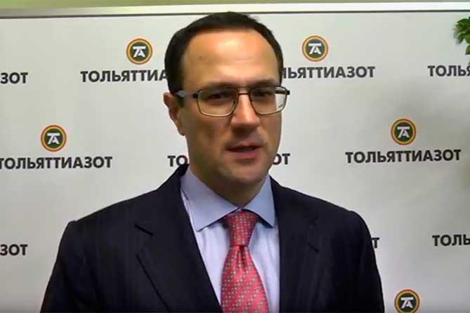 Председателем Совета директоров «Тольяттиазота» избран Петр Орджоникидзе