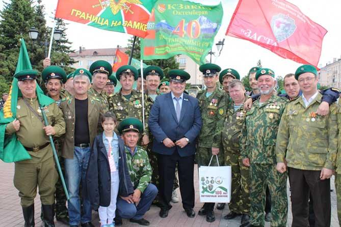 Сергей Анташев поздравил пограничников