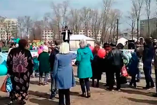 В Тольятти прошла праздничная первомайская демонстрация 2018