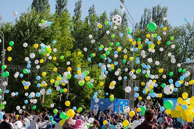 В Тольятти прошел фестиваль «Весна — детям» 2018