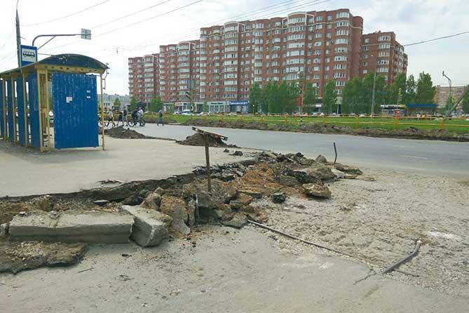 Ремонт на Жукова, Свердлова и Ленинском проспекте