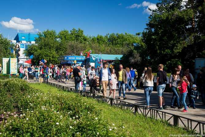 Праздник в Тольятти «Мультилето яркого цвета!» 1 июня 2018 года