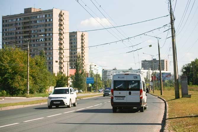 Изменение схемы маршрута в связи с ремонтом дороги