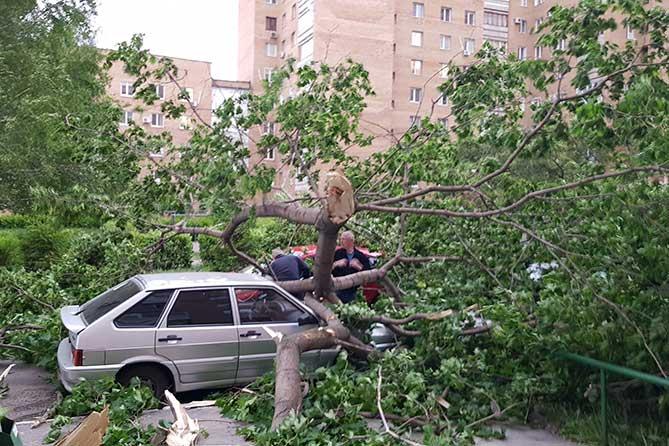 Ураган в Тольятти 30 мая 2018 года