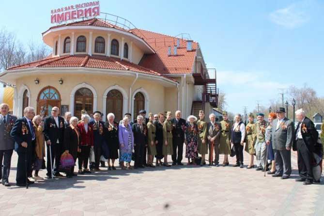 Торжественная встреча главы Тольятти с ветеранами Великой Отечественной войны