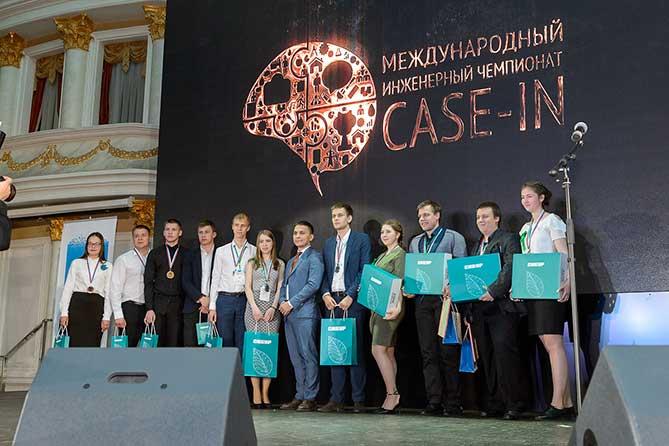 награждени победителей на Чемпионате «CASE-IN»