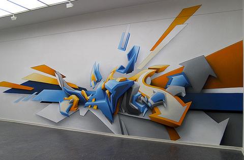 Объёмное граффити на заказ