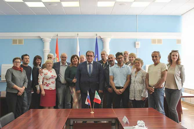 В Тольятти с рабочим визитом прибыла делегация из Италии