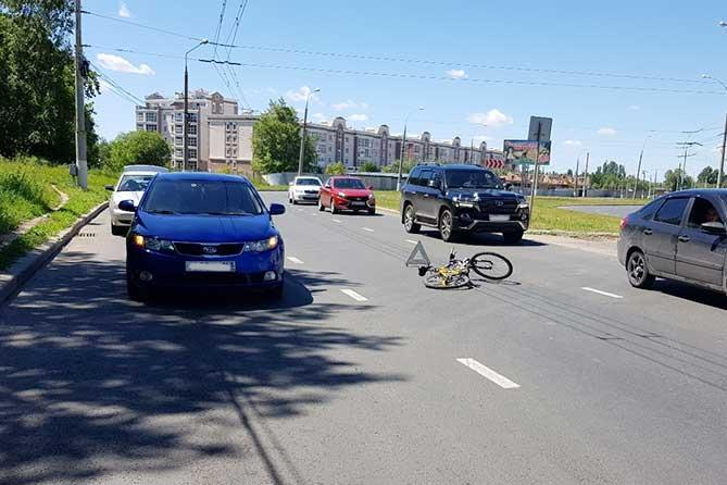Госпитализирован 17-летний велосипедист