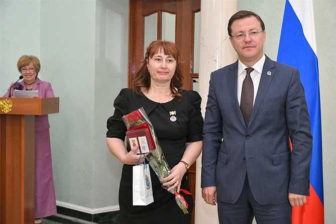 Тольяттинке Елене Богдановой присвоено звание «Заслуженный работник социальной сферы»