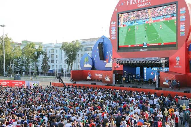 Жителей Тольятти ждут на Фестивале болельщиков FIFA
