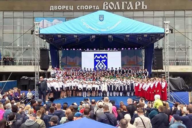 Дмитрий Азаров осмотрел набережную Автозаводского района Тольятти