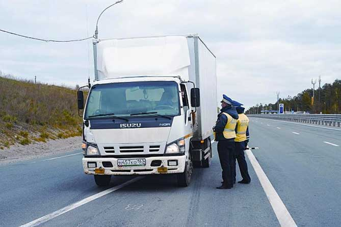 Трасса М-5 в Тольятти: Ограничение движение большегрузов с 10 июля 2018 года