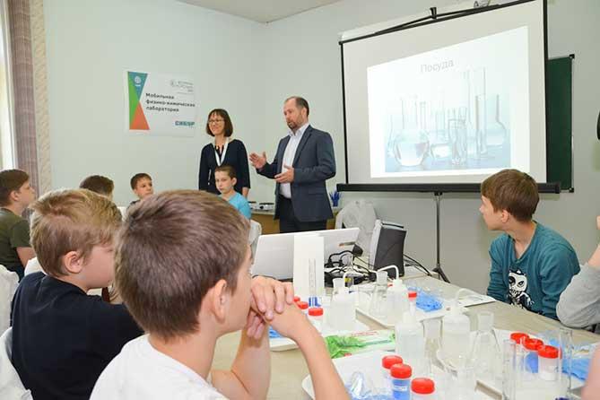 Бесплатные занятия по химии и физике для школьников в Тольятти
