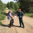 В Тольятти усилили патрулирование лесного массива