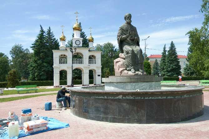 В Тольятти ремонтируют комплекс Святителю Николаю Угоднику