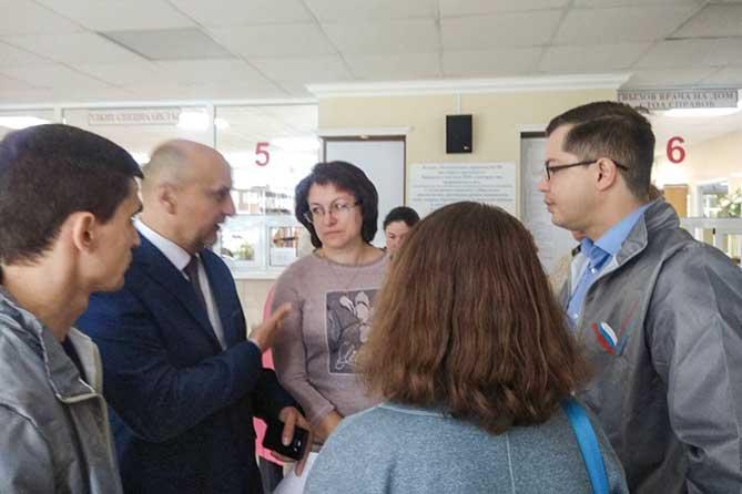 В Тольятти активисты ОНФ проверили поликлинику №1