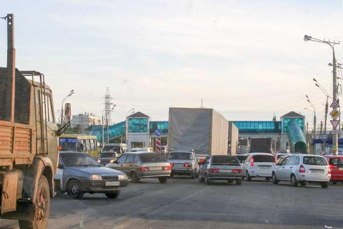 Ограничение движение на М5 в районе Жигморя и Шлюзового с 10 июля 2018 года