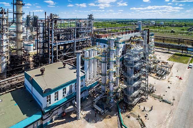 Техническое перевооружение производства изопрена в «СИБУР Тольятти»