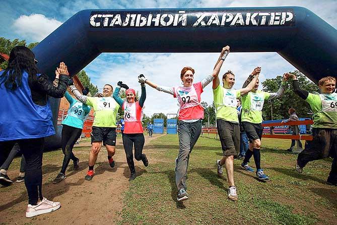 Более 500 человек приняли участие в забеге «Стальной характер» 2018
