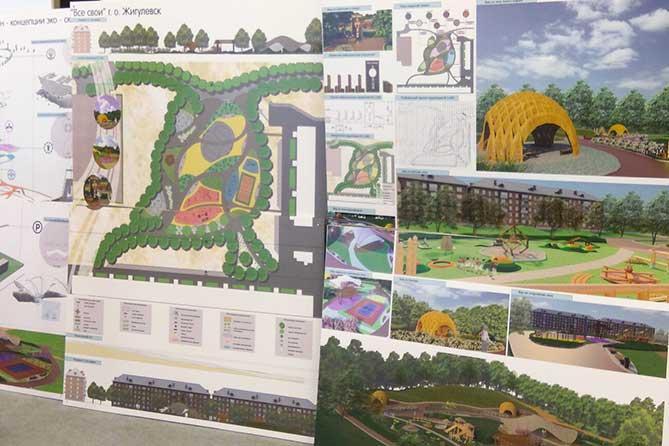 Студентка ТГУ подготовила дизайн-концепцию эко-сквера