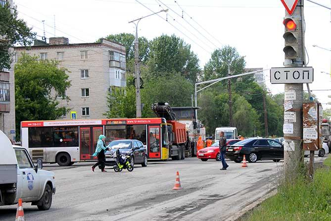 Ремонт улицы Горького в 2018 году