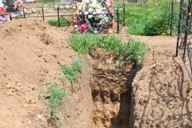 Места новых захоронений в Тольятти